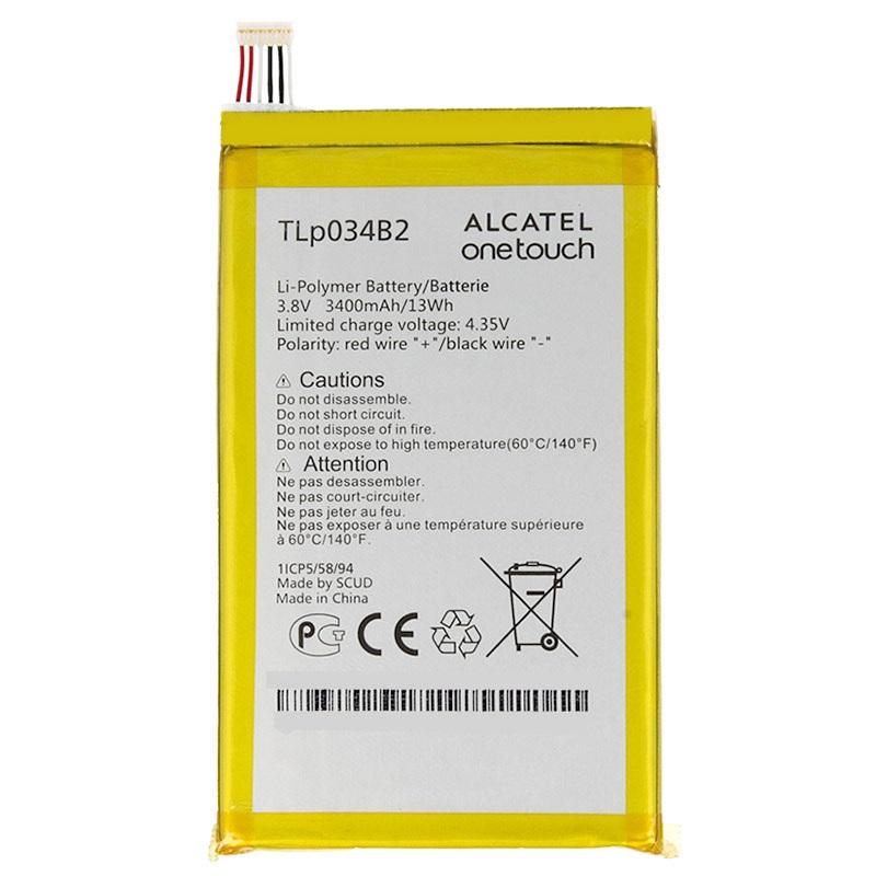 Baterie Alcatel CAC3400004C2, 3400mAh Li-Pol (Bulk)