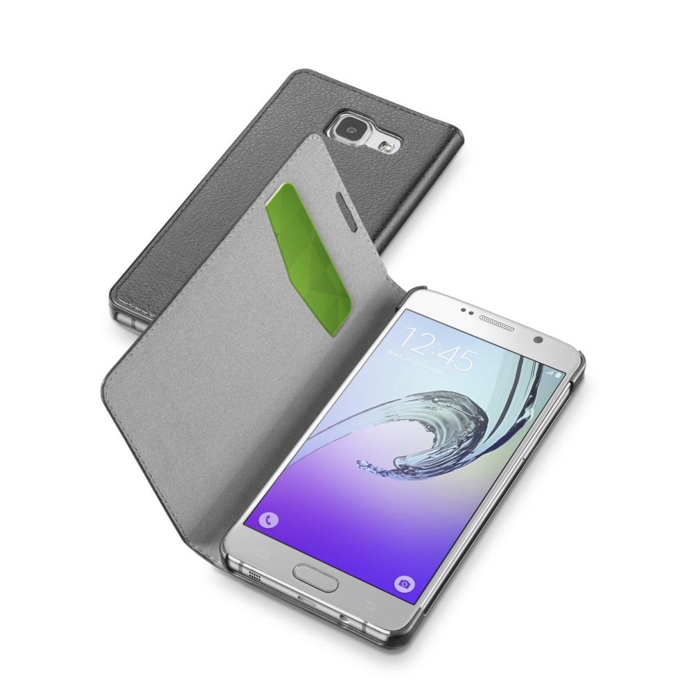 Pouzdro CellularLine Book Essential pro Samsung Galaxy A3 (2016), černé