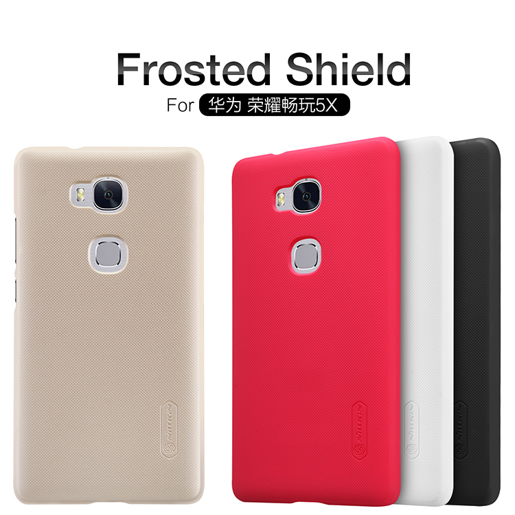 Nillkin Super Frosted zadní kryt pro Huawei Honor 5X bílý