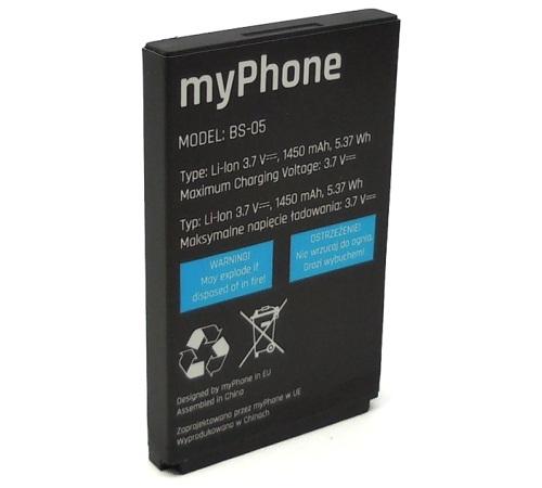 Baterie myPhone pro myPhone HAMMER 2 Li-Ion, 1450mAh (BULK)