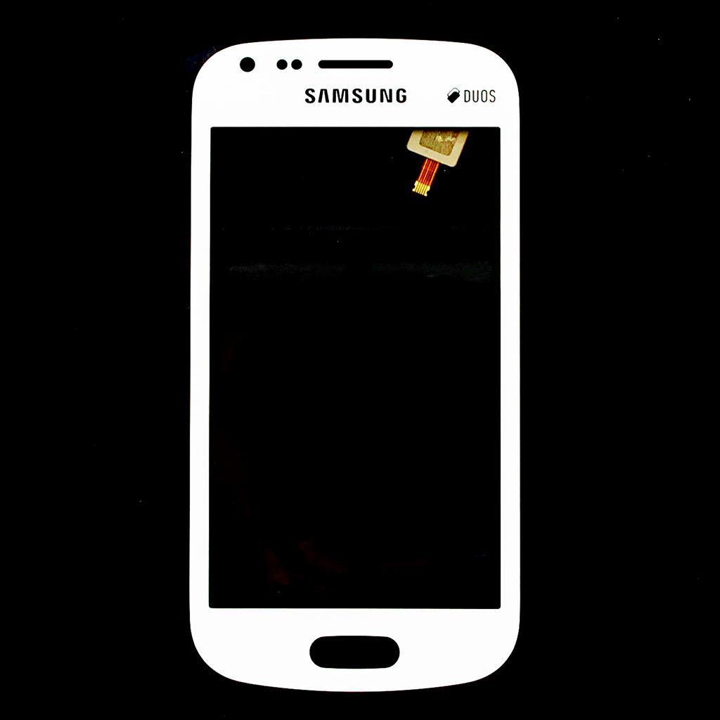 Dotyková deska pro Samsung Galaxy S Duos S7562 bílá