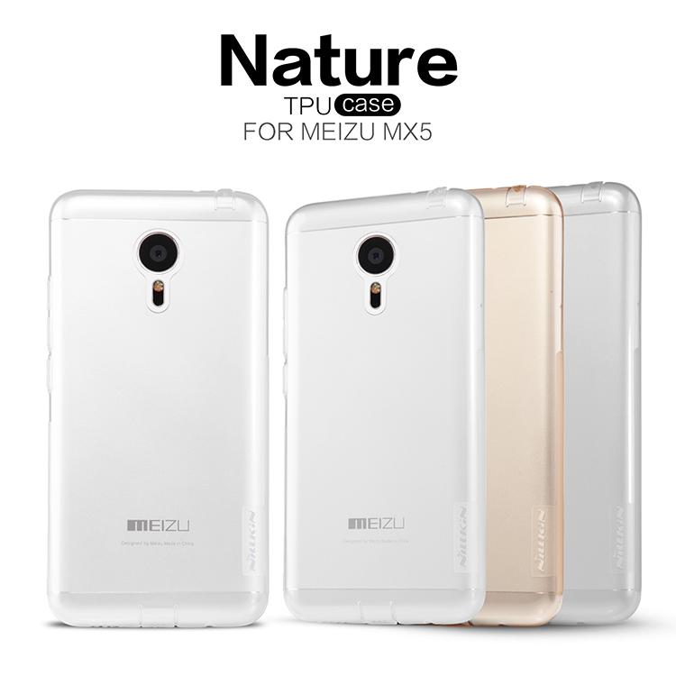 Silikonové pouzdro Nillkin Nature na Meizu MX5 čiré