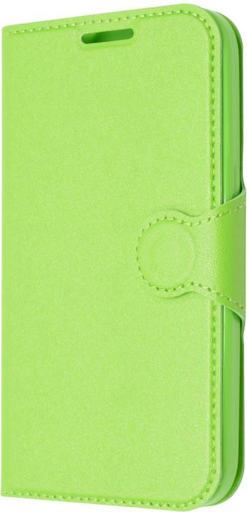 FIXED flipové pouzdro pro Lenovo Vibe P1m, zelené