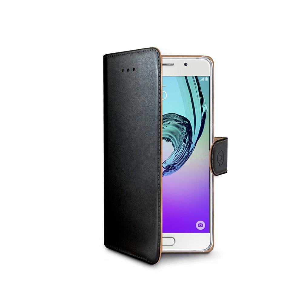 CELLY Wally Pouzdro flip na Samsung Galaxy A3 2016 černé