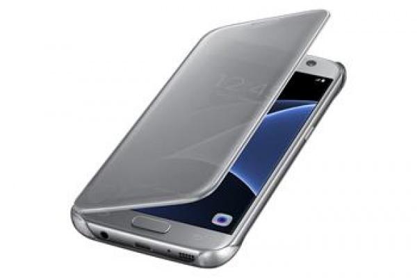 LED View Folio pouzdro pro Samsung Galaxy S7, stříbrné