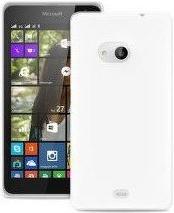 Zadní kryt Puro TPU pro Microsoft Lumia 550, čiré
