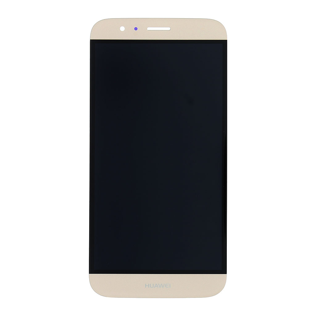 LCD Display + dotyková deska pro Huawei Ascend G8, zlatá