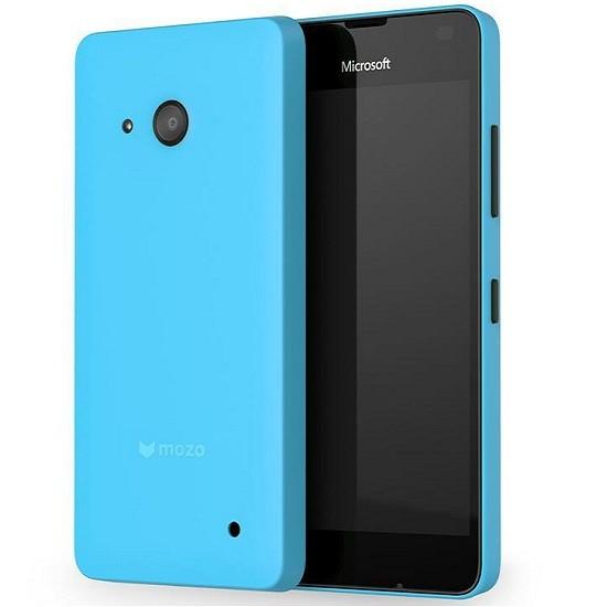 MOZO Zadní kryt na Microsoft Lumia 550 modrý