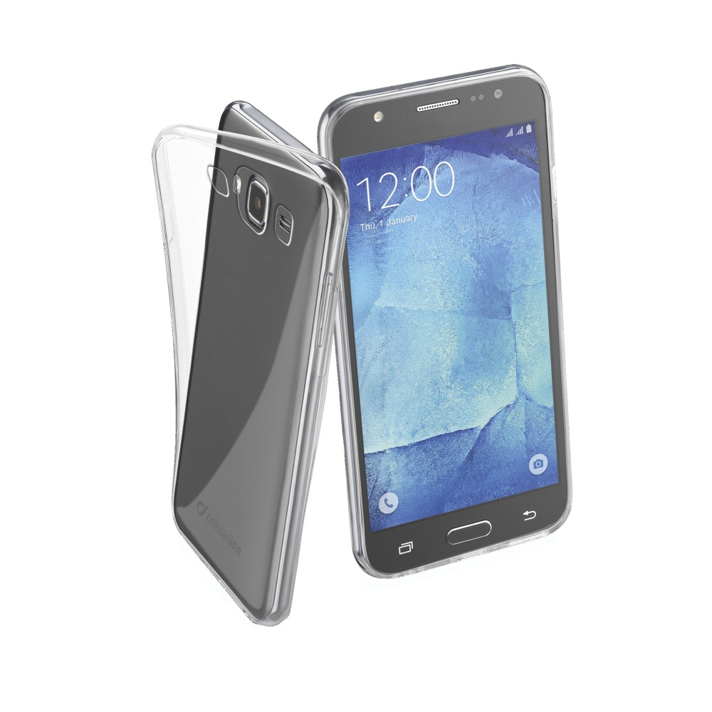 Extratenké pouzdro Samsung Galaxy J5 CellularLine Fine čiré