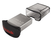 Flash disk Ultra Fit 128GB SanDisk USB (130MB/s, USB 3.0)