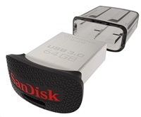 Flash disk Ultra Fit 64GB SanDisk USB (130MB/s, USB 3.0)