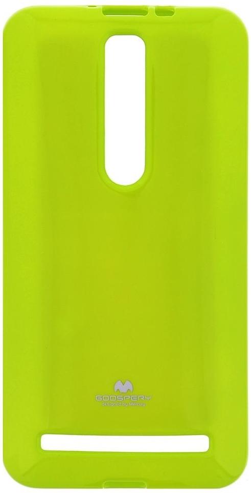 Mercury Jelly Case pouzdro pro Asus Zenfone ZD551 Selfie limetkové