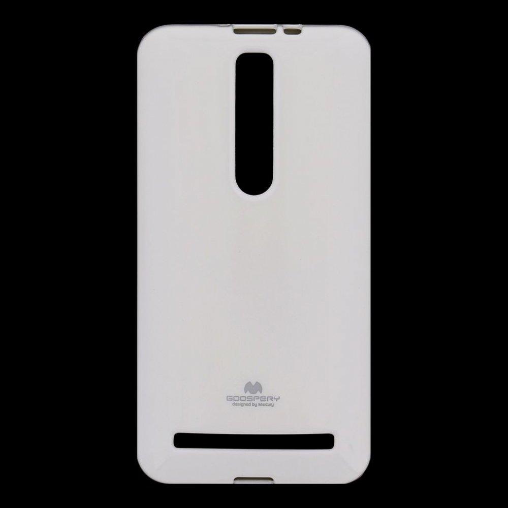 Mercury Jelly Case pouzdro pro Asus Zenfone ZD551 Selfie bílé