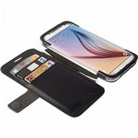 Flipové pouzdro Krusell MALMÖ FlipWallet pro Samsung Galaxy S6/S6 edge, černá