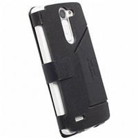 Flipové pouzdro Krusell MALMÖ FlipWallet pro LG D331 L Bello, černé