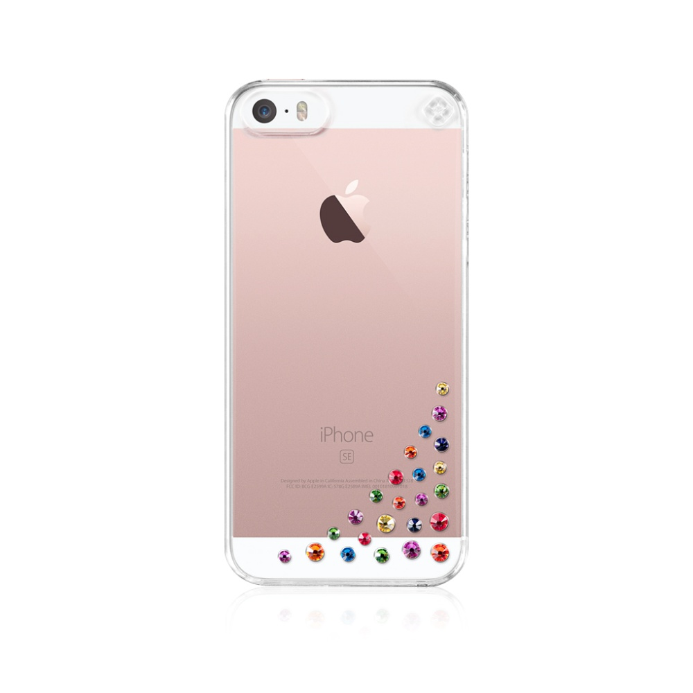 Pouzdro Bling My Thing Diffusion Rainbow Mix Apple iPhone 5/5s/SE, SWAROVSKI®