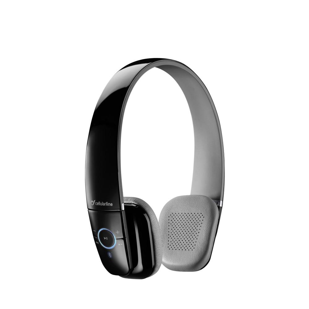 CellularLine FLY Bezdrátová sluchátka Bluetooth černá