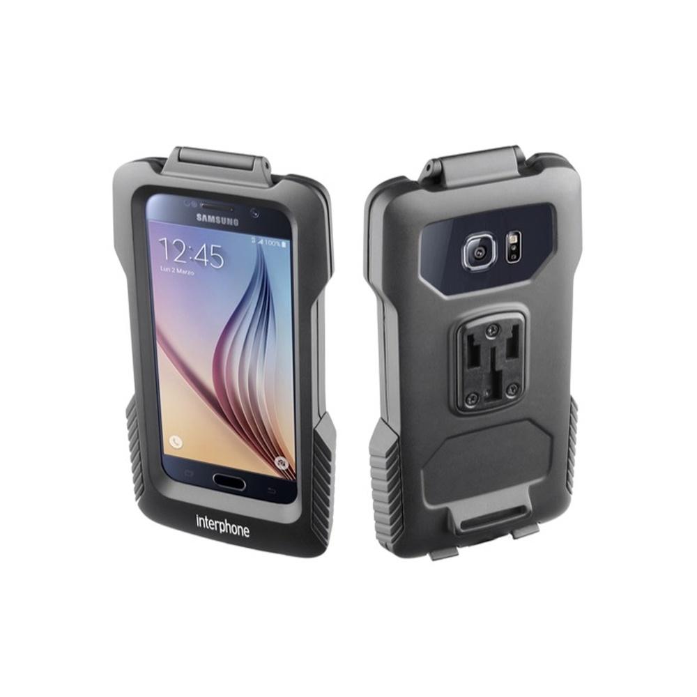 Interphone Voděodolné pouzdro na Samsung Galaxy S6 s držákem černé