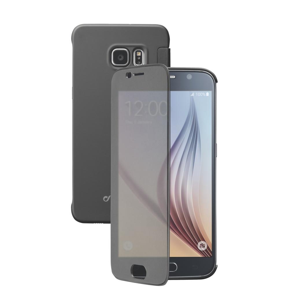 Cellularline Book TOUCH Pouzdro flip Samsung Galaxy S6 černé