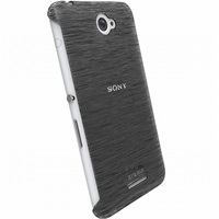 Zadní kryt Krusell FROSTCOVER pro Sony Xperia E4/E4 Dual, černý