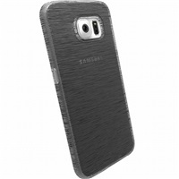 Zadní kryt Krusell FROSTCOVER pro Samsung Galaxy S6, transparentní černý