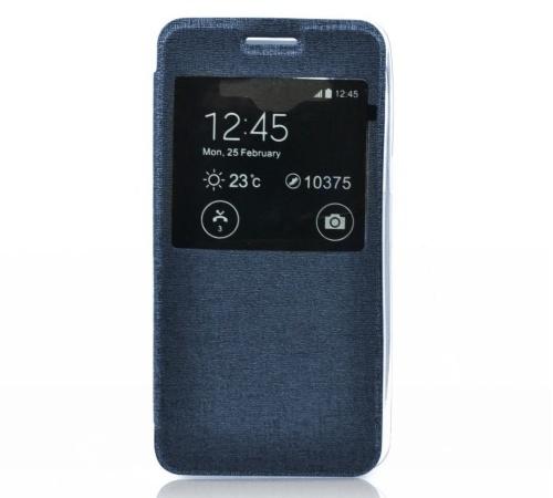 Forcell S-View flipové pouzdro pro Samsung G318 Galaxy Trend 2 dark blue