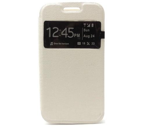 Forcell S-View flipové pouzdro pro Samsung G318 Galaxy Trend 2 white