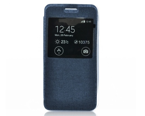 Forcell S-View flipové pouzdro pro Samsung G388F Galaxy Xcover 3 blue