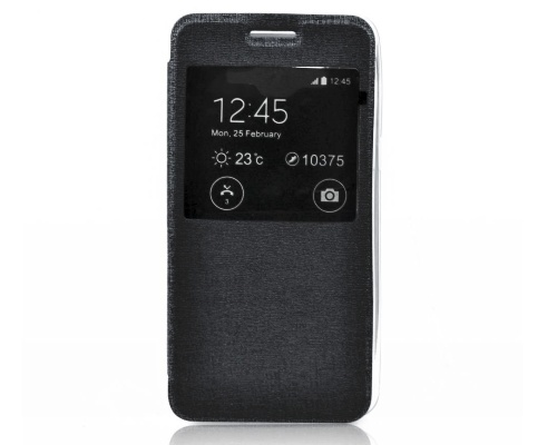 Forcell S-View flipové pouzdro pro Samsung G388F Galaxy Xcover 3 bllack