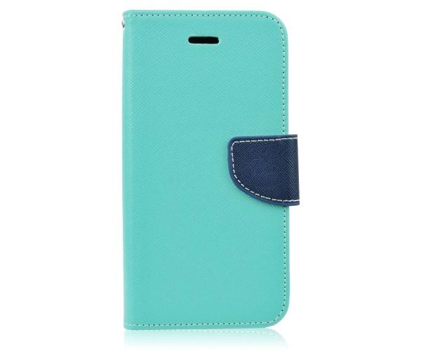 Pouzdro Fancy Diary Folio pro LG K4 (K120E) mátovo/modrá (BULK)