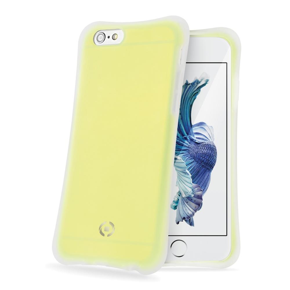 CELLY ICECUBE silikonové pouzdro na Apple iPhone 6s žluté