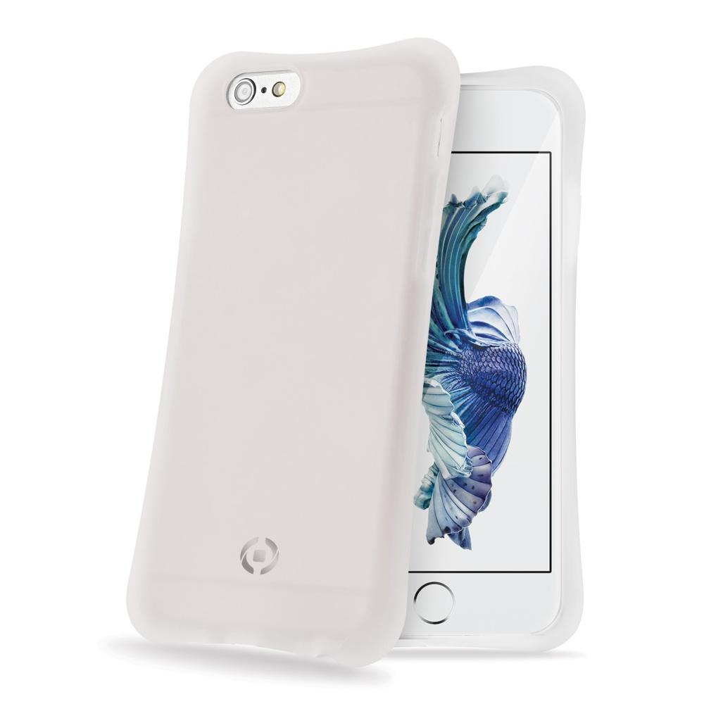 CELLY ICECUBE silikonové pouzdro na Apple iPhone 6s bílé