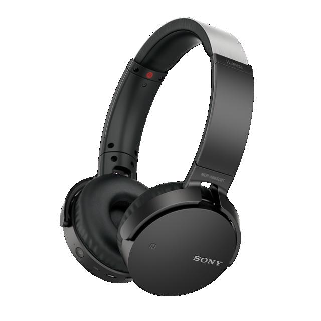 Sluchátka SONY MDR-XB650BT bezdrátová handsfree, černá
