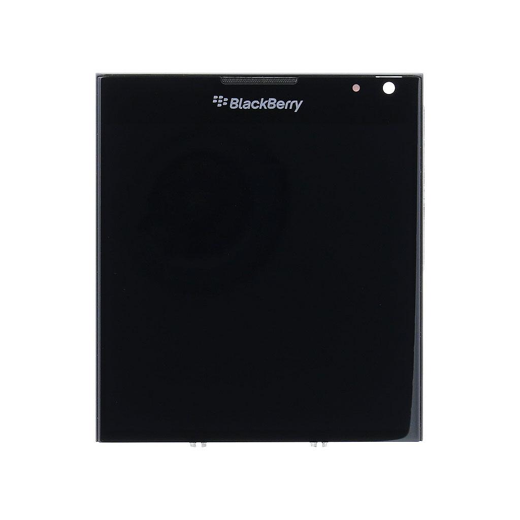 LCD display + dotyk. deska + př. kryt pro BlackBerry Q30, black