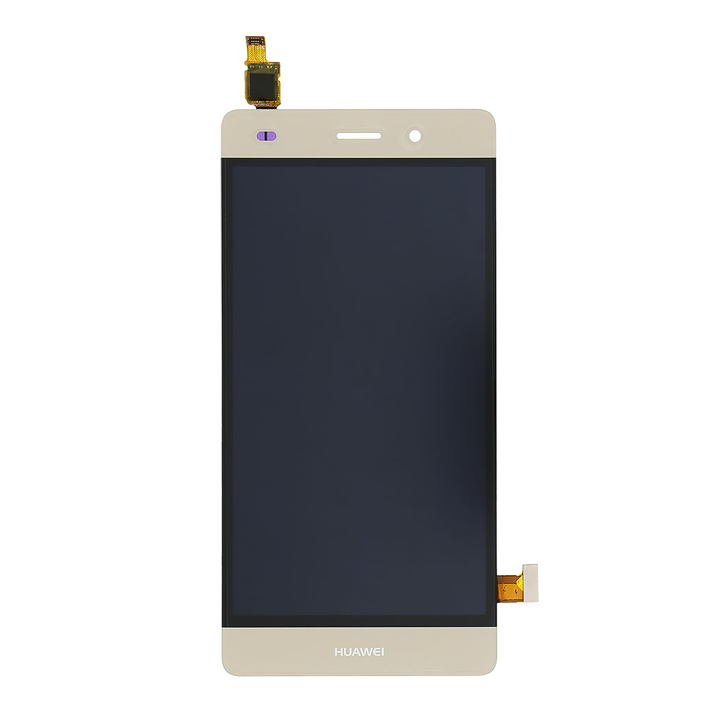 LCD display + dotyková deska pro Huawei Ascend P8 Lite, zlatá