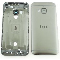 Zadní kryt baterie na HTC ONE M9 stříbrný