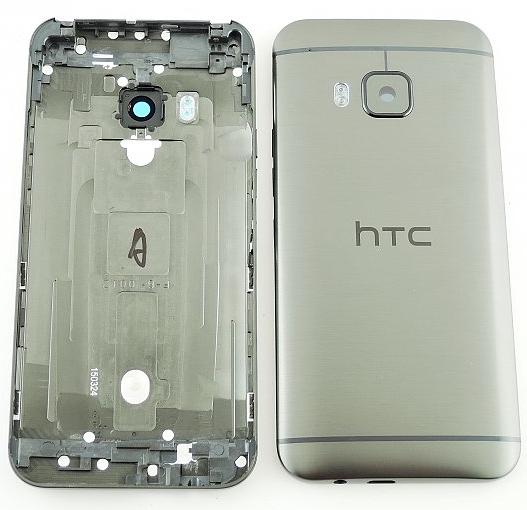 Zadní kryt baterie na HTC ONE M9 šedý