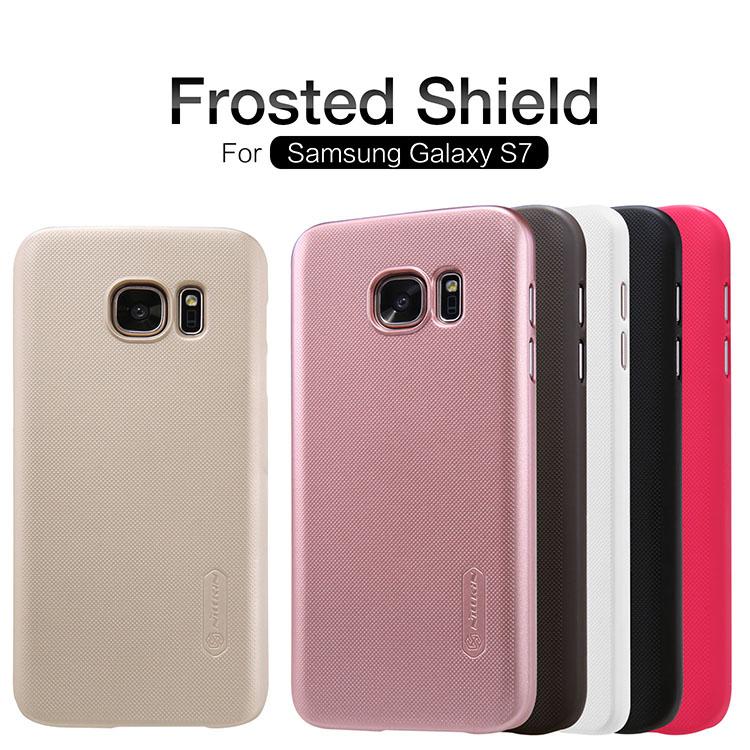 Zadní kryt pro Samsung Galaxy S7 (G930) Nillkin Super Frosted zlatý