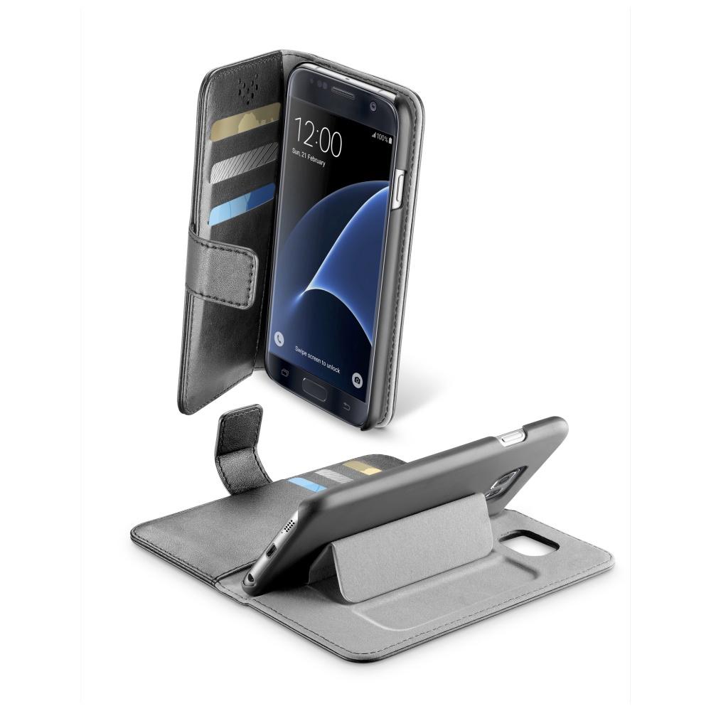 CellularLine Book Agenda Pouzdro flip Samsung Galaxy S7 černé