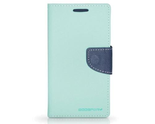 Mercury Fancy Diary flipové pouzdro pro Samsung Galaxy Core 2 mátovo-modré