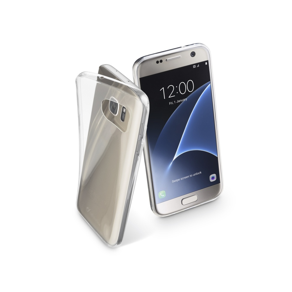 CellularLine Fine Extratenké pouzdro Samsung Galaxy S7 čiré