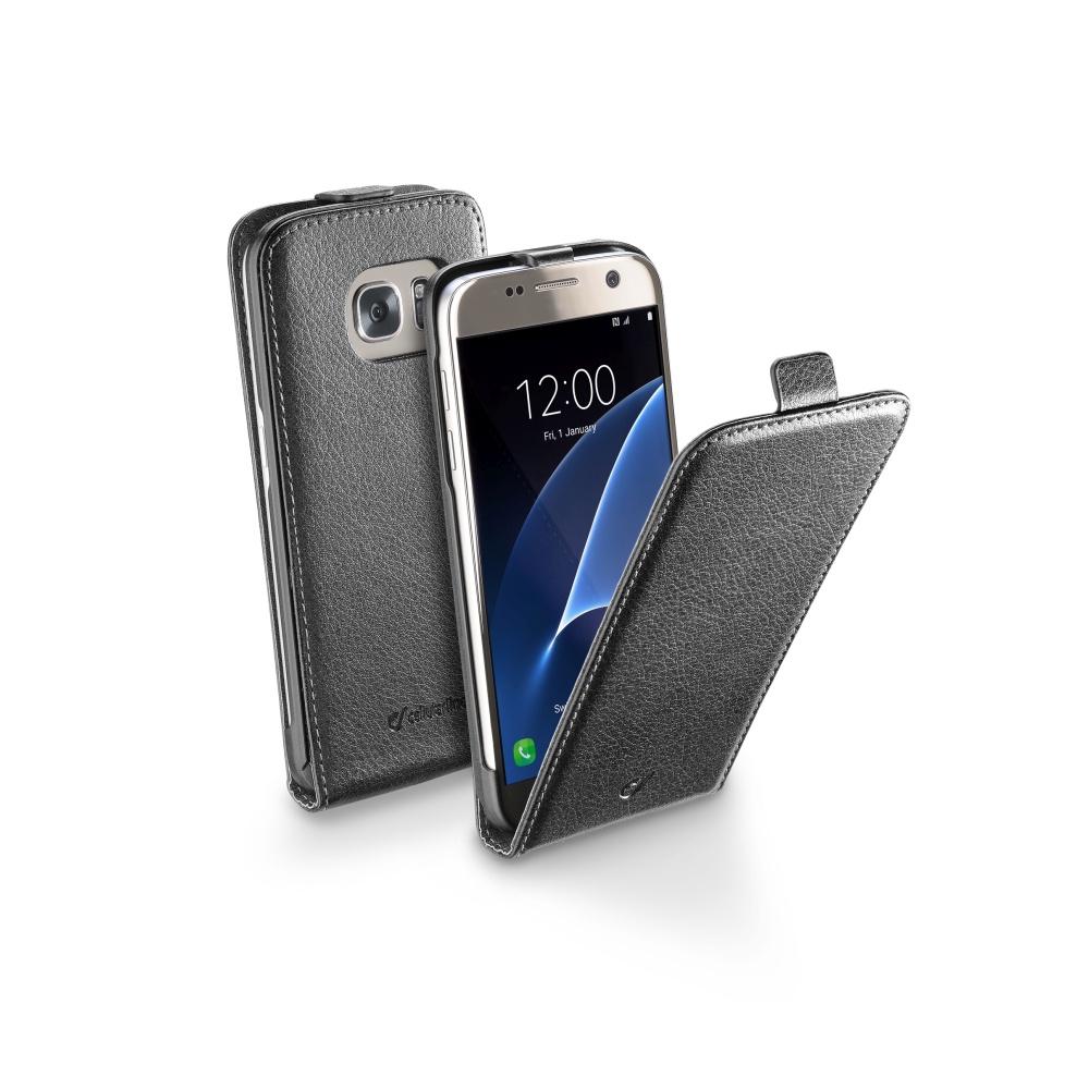 CellularLine Essential FLIP pouzdro Samsung Galaxy S7 černé
