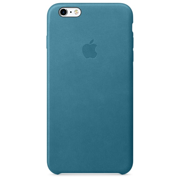Zadní kryt na Apple iPhone 6s Plus Leather Case - Marine Blue