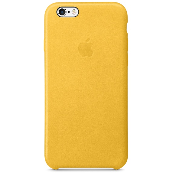 Zadní kryt na Apple iPhone 6s Leather Case - Marigold