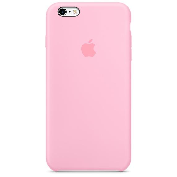 Zadní kryt na Apple iPhone 6s Plus Silicone Case - Light Pink
