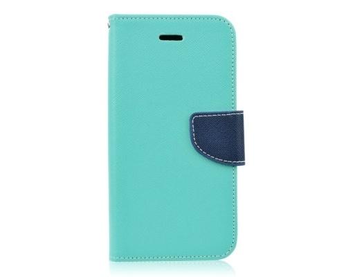 Mercury Fancy Diary flipové pouzdro pro Apple iPhone 5,5S,SE mátovo-modré