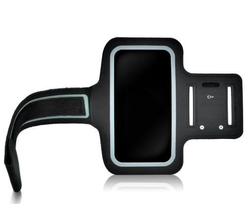 """Pouzdro sportovní na ruku HSK-01 velikost 3,5 - 4"""" černá"""