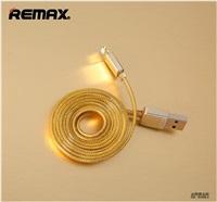 Datový kabel REMAX pro Apple iPhone, zlatý