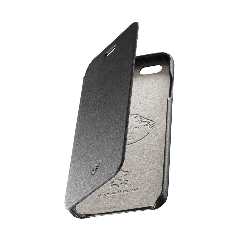 CellularLine SUITE pouzdro flip Apple iPhone 6/6s pravá kůže černé