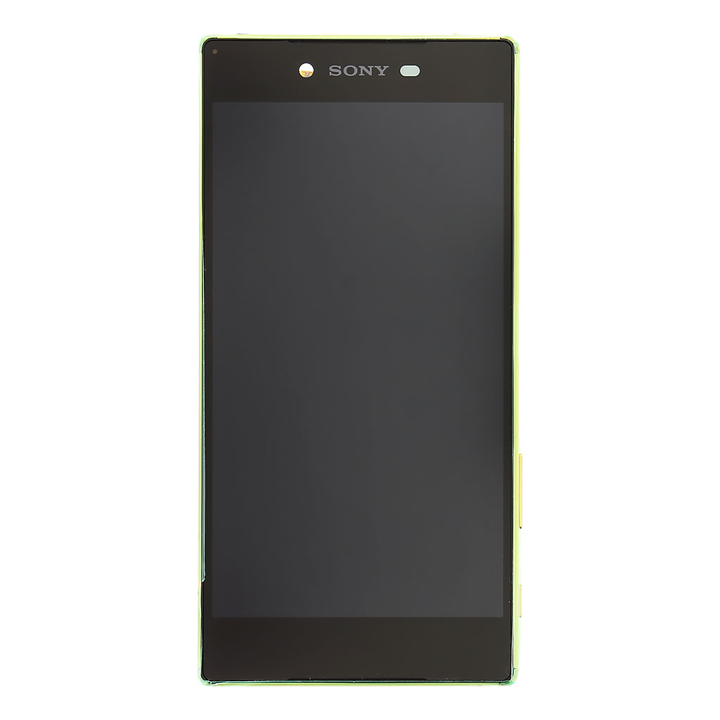 LCD display + dotyk. deska + př. kryt pro Sony Xperia Z5 Premium (E6853), zlatá (Service Pack)